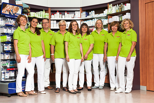 Das Team Apotheke Schönau